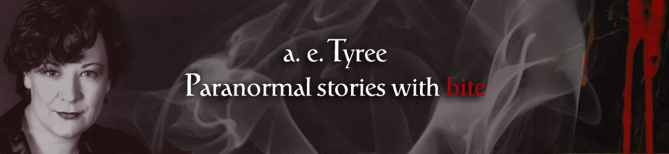 a.e. Tyree, Paranormal stories with bite